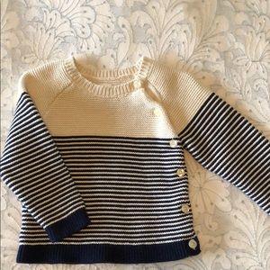 BabyGap striped sweater